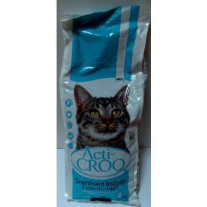 ACTI-CROQ Cat Sterilized 2kg