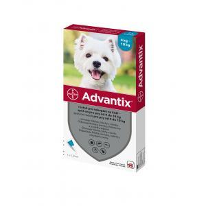 Advantix Spot On 1x1ml pro psy 4-10kg