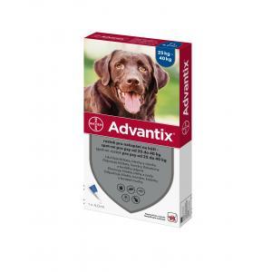 Advantix Spot On 1x4ml pro psy nad 25kg