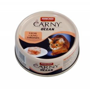 ANIMONDA konzerva CARNY Ocean - losos + sardinky 80g
