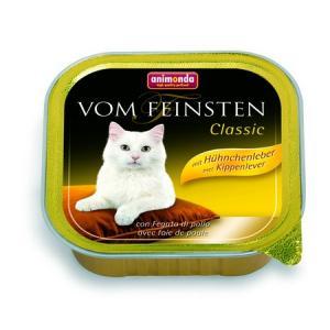 ANIMONDA paštika CLASSIC - kuřecí játra pro kočky 100g