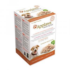 Applaws kapsička Dog JELLY Supreme Collection 5x100g mix kapsiček pro psy