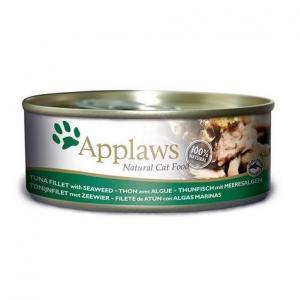 Applaws konzerva Cat 156g tuňák a mořské řasy