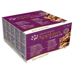 Applaws konzerva Cat MultiPack 12x70g - JELLY Selection