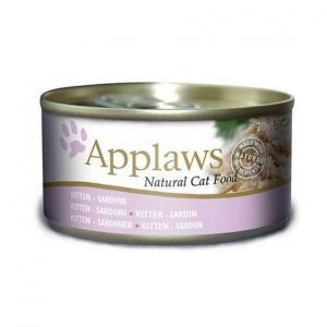 Applaws konzerva KITTEN 70g jemná SARDINKA pro koťata