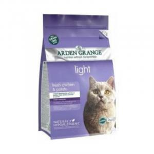 ARDEN GRANGE Adult Cat Light with Chicken & Potato grain free 2 kg