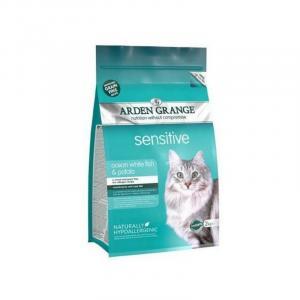 ARDEN GRANGE Adult Cat Sensitive Ocean White Fish & Potato grain free 2 kg