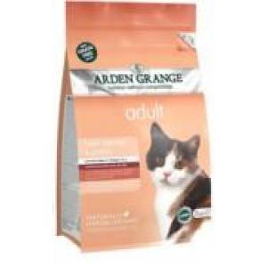 ARDEN GRANGE Adult Cat with fresh Salmon & Potato grain free 8 kg