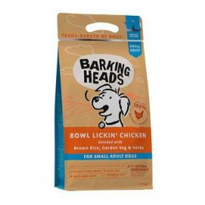 BARKING HEADS Bowl Lickin' Chicken (Small Breed) 1,5kg (EXPIRACE 07/2021)