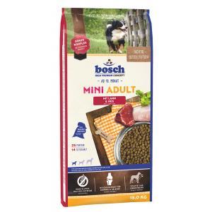 Bosch Dog Adult Mini Lamb & Rice 15 kg NEW