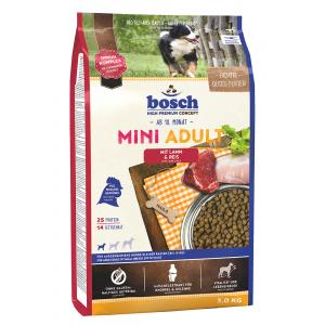 Bosch Dog Adult Mini Lamb & Rice 3 kg NEW