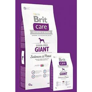 Brit Care Dog Grain-free Giant Salmon & Potato 12kg + DOPRAVA ZADARMO