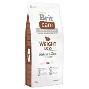 "Brit Care Dog Weight Loss Rabbit 12kg + ""Barel"""