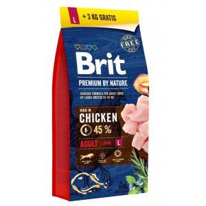 Brit Premium by Nature Adult L 18 kg