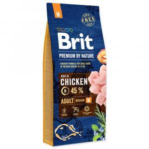 Brit Premium by Nature Adult M 15 kg