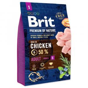 Brit Premium by Nature Adult S 1 kg