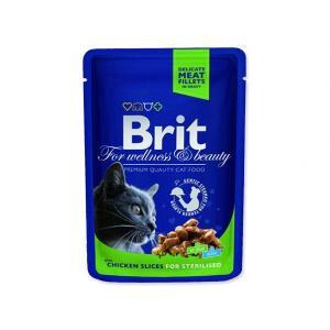BRIT Premium Cat Chicken Slices for Sterilised 100g