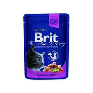 BRIT Premium Cat Salmon & Trout 100g