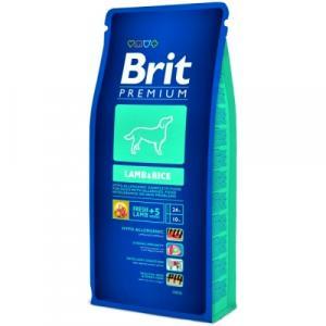 BRIT Premium Dog Lamb & Rice 15 kg + DOPRAVA ZDARMA
