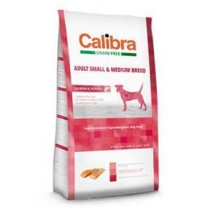Calibra Dog GF Adult Medium & Small Salmon12kg + DOPRAVA ZDARMA