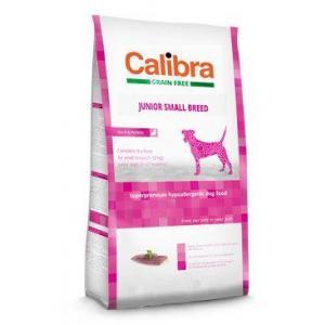 Calibra Dog GF Junior Small Breed Duck 2kg NEW