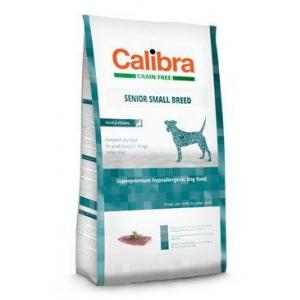 Calibra Dog GF Senior Small Breed Duck 2kg NEW
