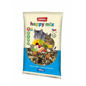 DARWINS činčila & osmák happy mix 500 g