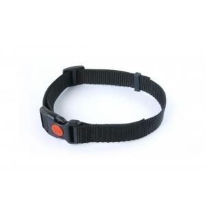 DOG trace Tkaný řemen černý, 20 mm x 45 cm
