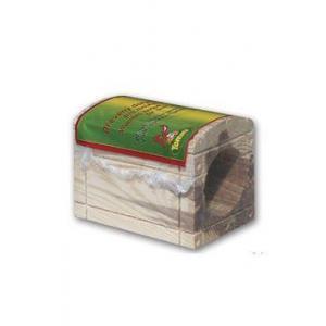 Domeček dřevěný pro hlodavce truhla 9x6x7cm