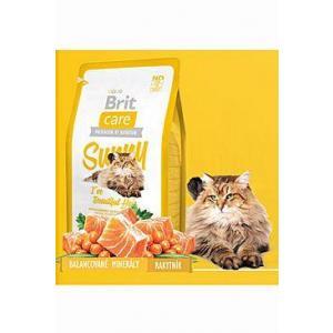 ECO PACK Brit Care Cat Sunny I´ve Beautiful Hair 2 x 7kg