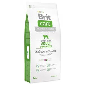 ECO PACK Brit Care Dog Grain-free Adult LB Salmon & Potato 2 x 12kg