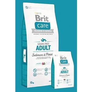 ECO PACK Brit Care Dog Grain-free Adult Salmon & Potato 2 x 12kg
