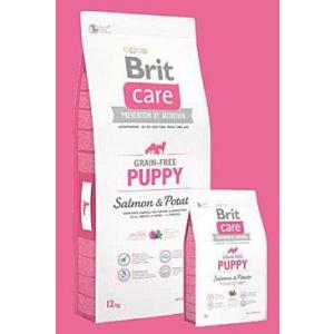 ECO PACK Brit Care Dog Grain-free Puppy Salmon & Potato 2 x 12kg