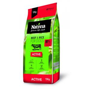 ECO PACK Nativia Dog Active 2 x 15 kg