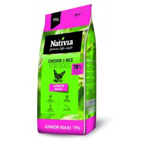 ECO PACK Nativia Dog Junior Maxi 2 x 15 kg
