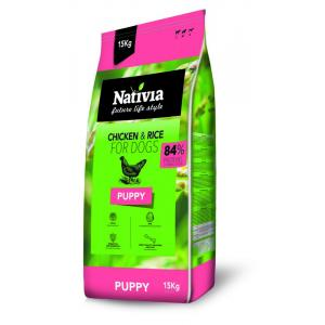ECO PACK Nativia Dog Puppy 2 x 15 kg