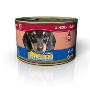 ECO PACK PROFIDOG konzerva junior hovězí 405g 12 KS
