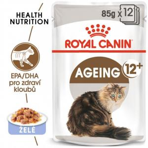 ECO PACK Royal Canin Ageing +12 in Jelly 12 x 85g