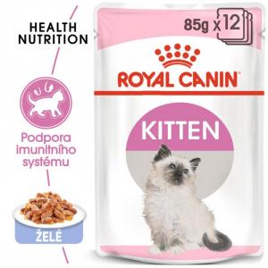 ECO PACK Royal Canin Kitten Instinctive in Jelly 12 x 85g