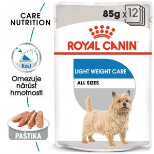 ECO PACK Royal Canin Light Weight Care Dog Loaf 12 x 85 g