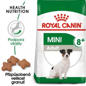 ECO PACK Royal Canin Mini Adult 8+ 2 x 8 kg