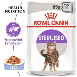 ECO PACK Royal Canin Sterilized in Jelly 12 x 85g