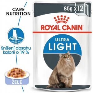 ECO PACK Royal Canin Ultra Light in Jelly 12 x 85g