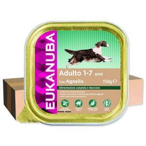 ECO PACK Vanička EUKANUBA Adult Lamb 150g 12x