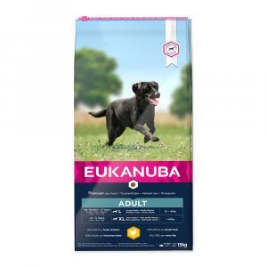 """Eukanuba Adult Large Breed 15 kg + """"aportovací hračka"""""""