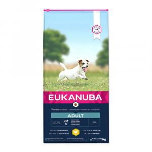 "Eukanuba Adult Small Breed 15 kg + ""Eukanuba Pelech"""