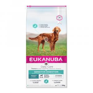 "Eukanuba Care Sensitive Digestion 12,5 kg + ""Eukanuba Pelech"""