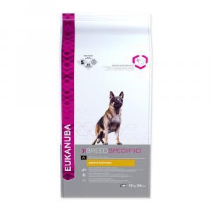 "Eukanuba German Shepherd 12 kg + ""Eukanuba Pelech"""
