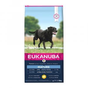 "Eukanuba Mature & Senior Large Breed 15 kg + ""aportovací hračka"""