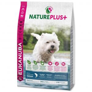 EUKANUBA Nature Plus+ Adult Small Breed Rich in freshly frozen Salmon 2,3 kg